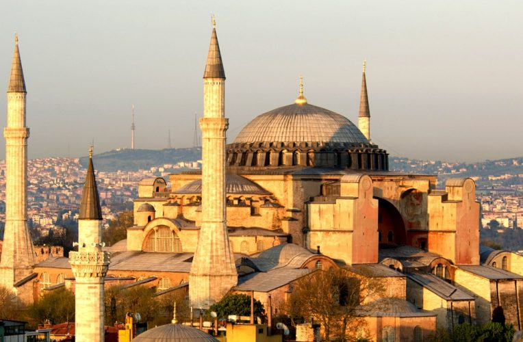 Hagia Sophia In Holiday