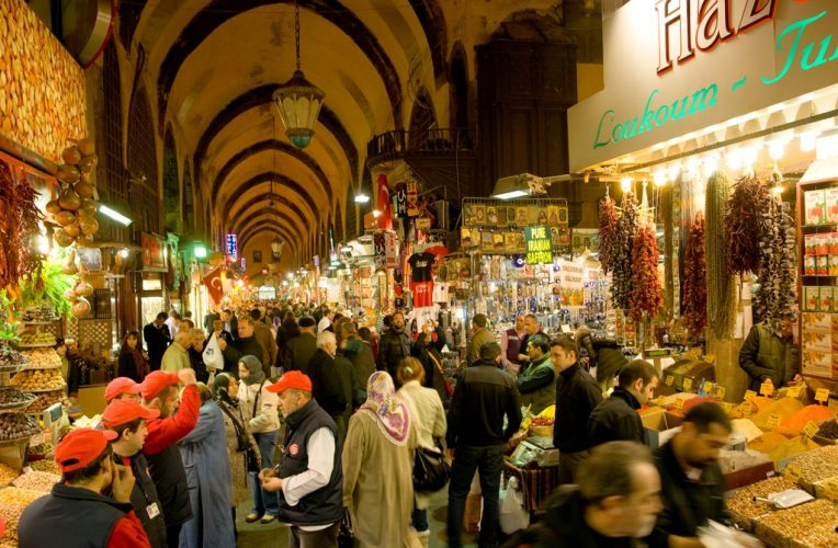 Beyazıd Grand Bazaar In Holiday
