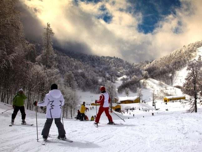Uludag Ski Center In Holiday