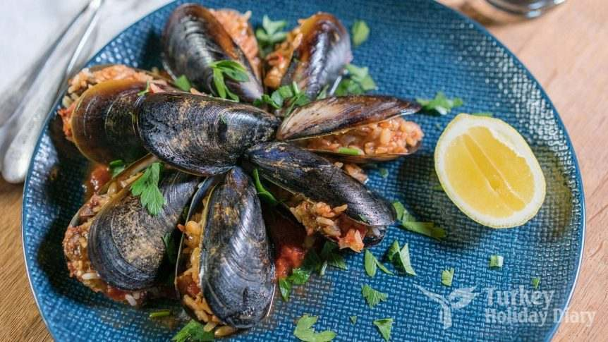 Midye - Stuffed Mussels