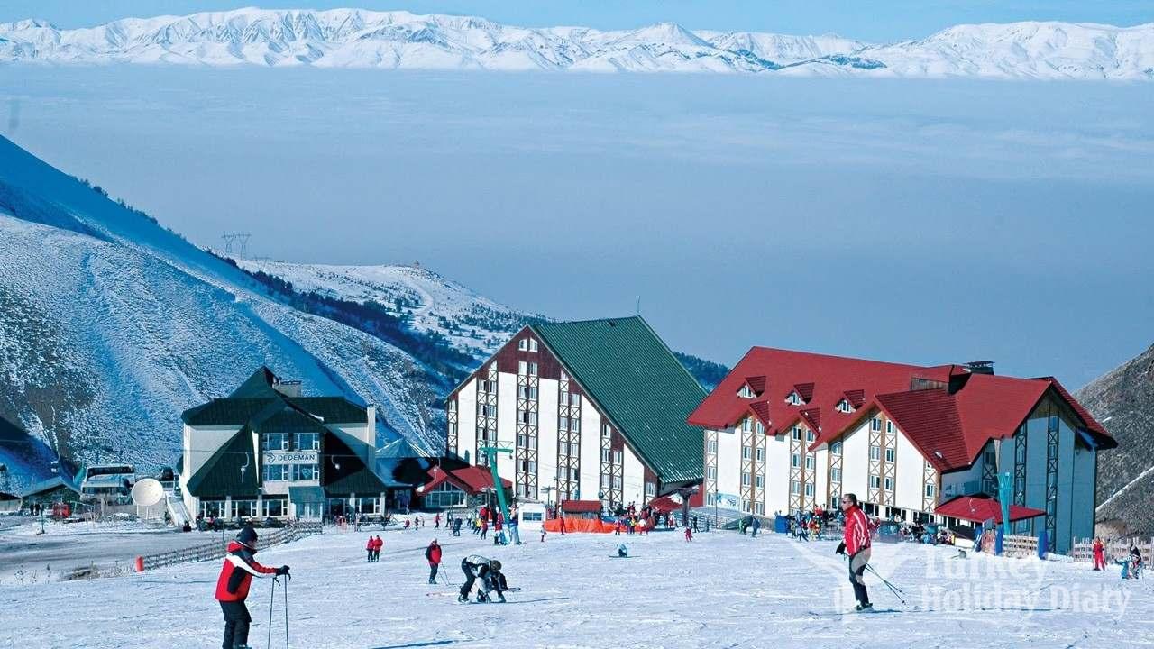 palandoken mountain and ski center - turkey holidays 2019