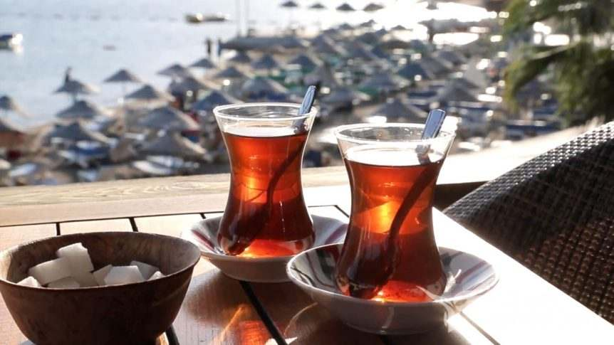 Turkish Tea Sign of Friendship