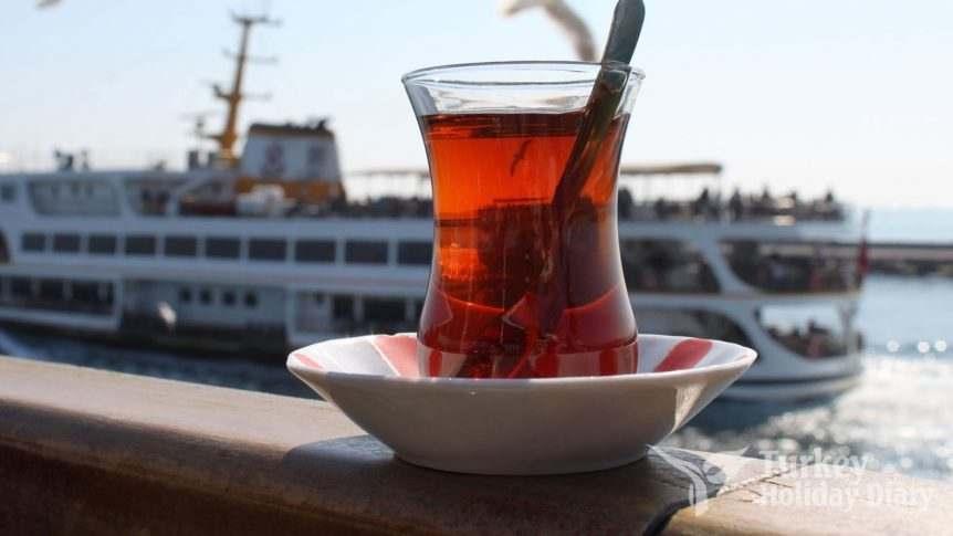 Turkish Tea Sign of Friendship