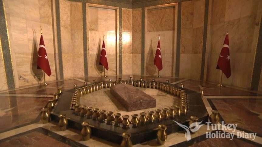 ataturk burial