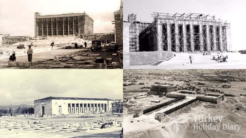 construction of anitkabir
