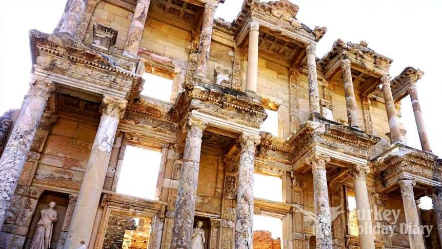Ephesus Ancient Architectural Structures