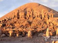 Nemrut Mountain Sculptures and Pyramids