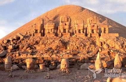 Nemrut Mountain Sculptures and Pyramids
