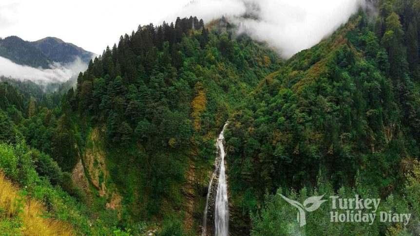 Rize-Ayder Gelin Tulu Waterfall