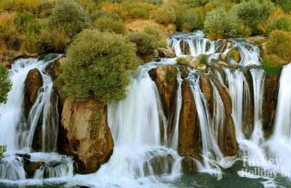 Waterfalls in Turkey